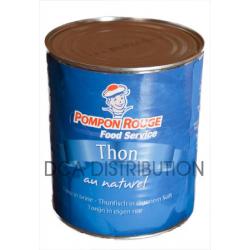 THON ENTIER NATUREL-Unité 4/4-Pompon rouge