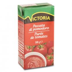 PUREE DE TOMATE -Unité Tetrapack 500-VICTORIA
